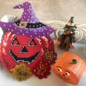 Other - *Host Pick* Halloween! Pumpkin decor & bear